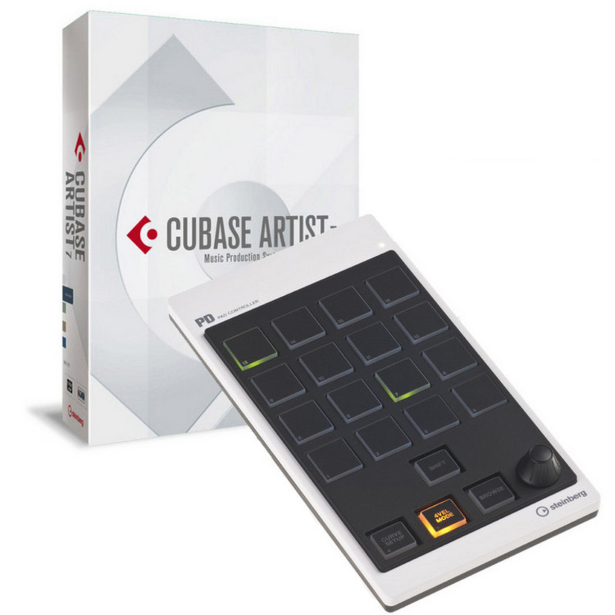 disc steinberg cubase artist 7 5 and cmc pd pad controller bundle at gear4music. Black Bedroom Furniture Sets. Home Design Ideas