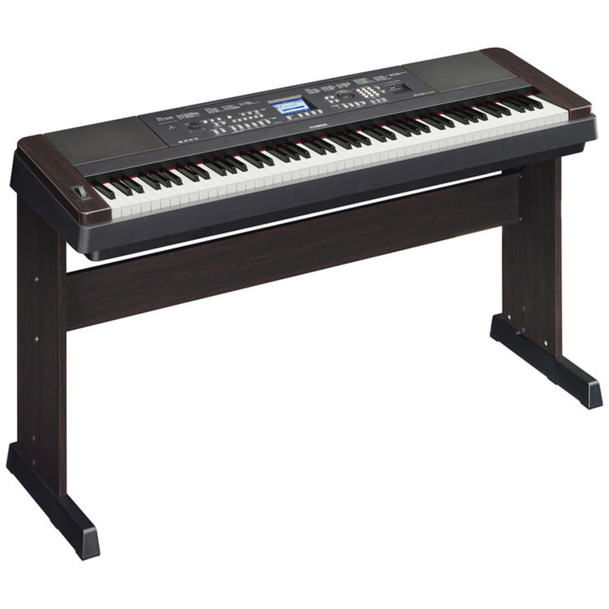 disc yamaha portable grand dgx650 digital piano black at gear4music. Black Bedroom Furniture Sets. Home Design Ideas