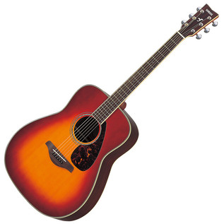 Yamaha FG730S Acoustic Guitar, Cherry