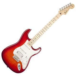 Fender Standard Stratocaster HSS Plus Top MN, Aged Cherry Burst