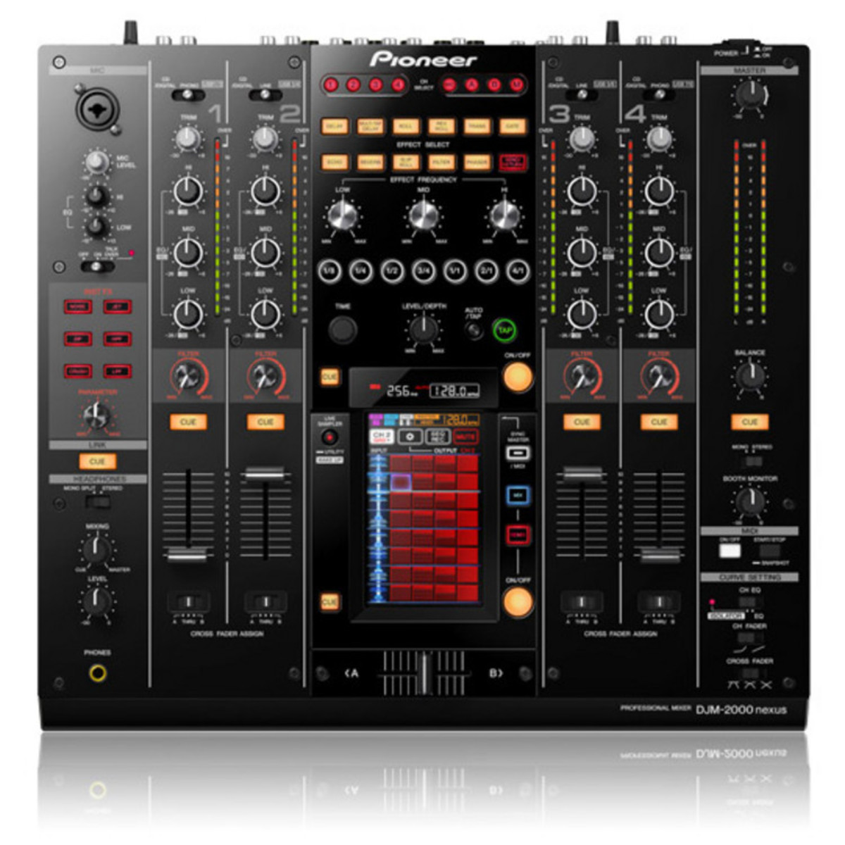 disc pioneer table de mixage djm 2000 nexus 4 canaux dj. Black Bedroom Furniture Sets. Home Design Ideas