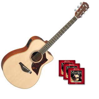 Yamaha AC3M Electro Acoustic Guitar with FREE Strings