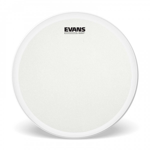 evans orchestra coated snare drum staccato 14 inch