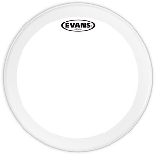 Evans EQ2 Clear Bass Drum Head, 20 Inch
