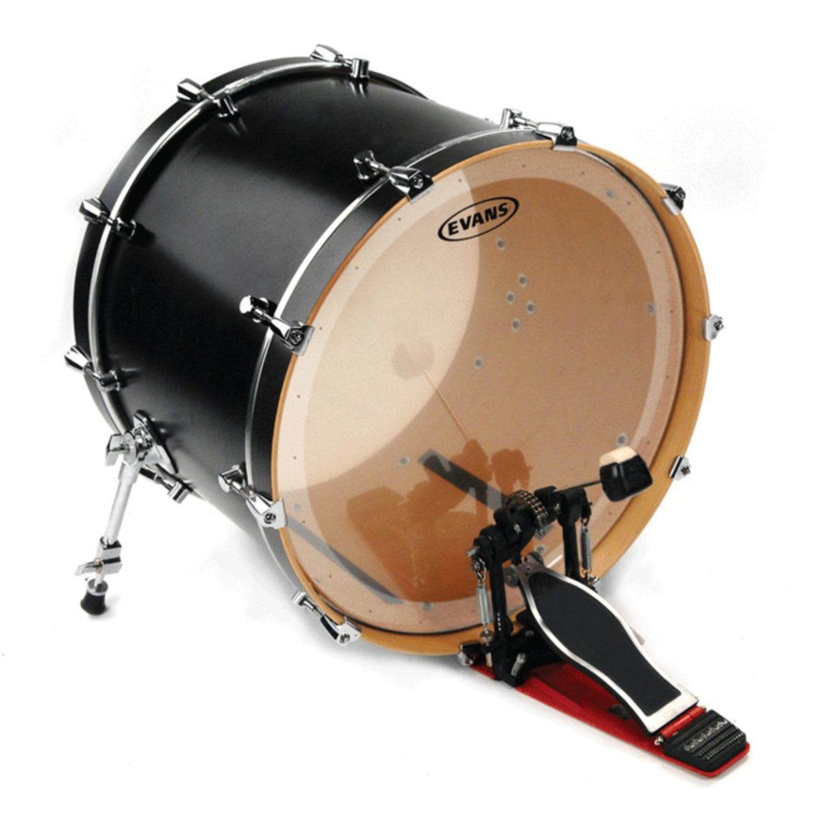 disc evans eq2 clear bass drum head 20 inch at gear4music. Black Bedroom Furniture Sets. Home Design Ideas