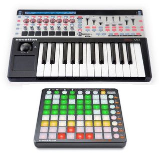Novation 25 SL MK2 & Launchpad S Producer Bundle