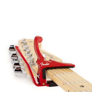 Fender/Kyser Quick-Change Capo Red