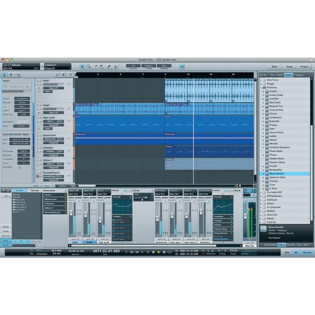 Music studio for mac