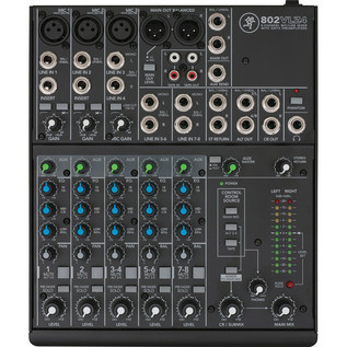 Mackie 802VLZ4 8 Channel Analog Compact Mixer 2
