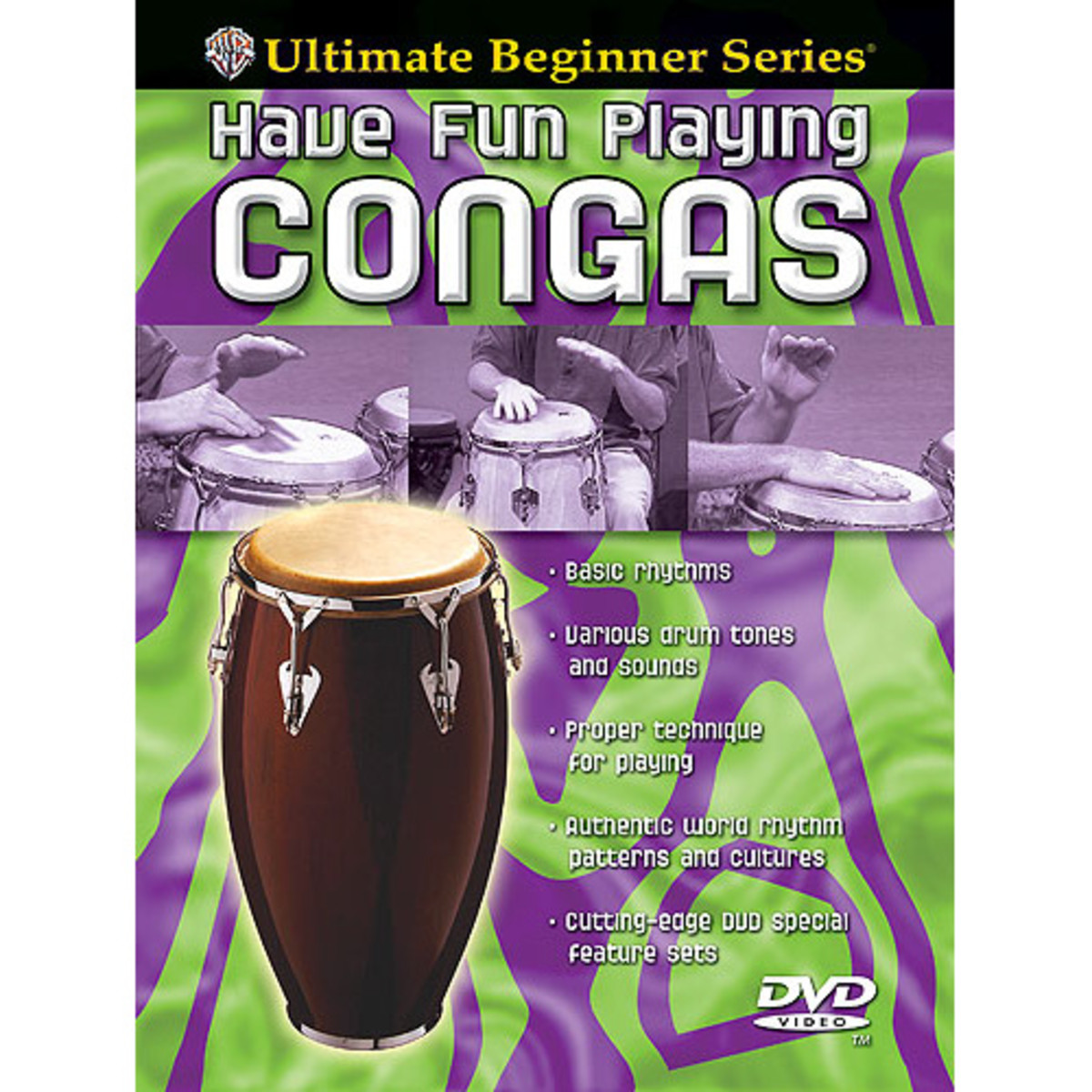 Click to view product details and reviews for Ultimate Beginners Congas Dvd.