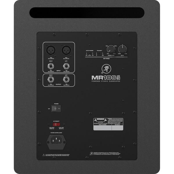 Mackie MR10S MK3 Active Studio Subwoofer 2