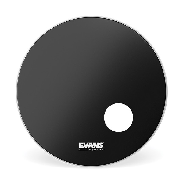 Evans ONYX Resonant Bass Drum Head, 24 Inch