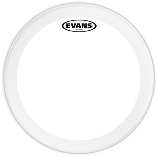Evans EQ2 Clear Bass Drum Head, 24 Inch