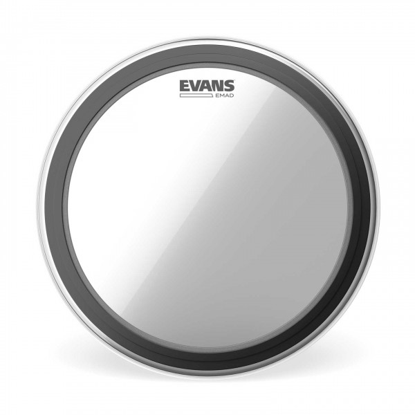 Evans EMAD Clear Bass Drum Head, 26 Inch