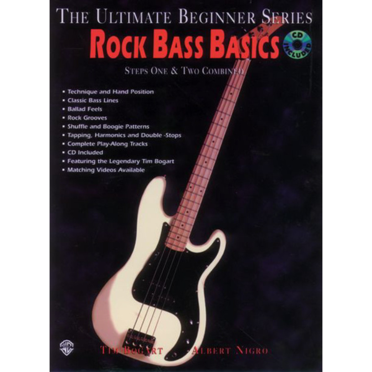 Click to view product details and reviews for Rock Bass Basics Steps 1 2 Book Cd Dvd.