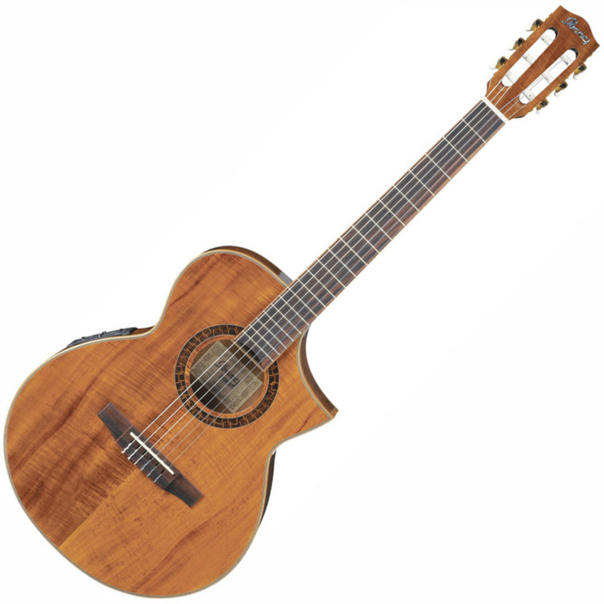 ibanez ewn28k0e exotic wood nylon string guitar nearly new at gear4music. Black Bedroom Furniture Sets. Home Design Ideas