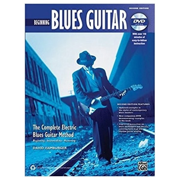 Complete Blues Guitar Method: Beginning Blues Guitar (Book + DVD)