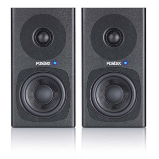 Fostex PM0.3 30W Active Monitors, Black (Pair)