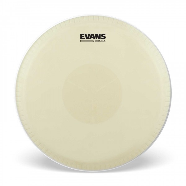 Evans Tri-Center Extended Collar Conga Drum Head, 12.50 Inch