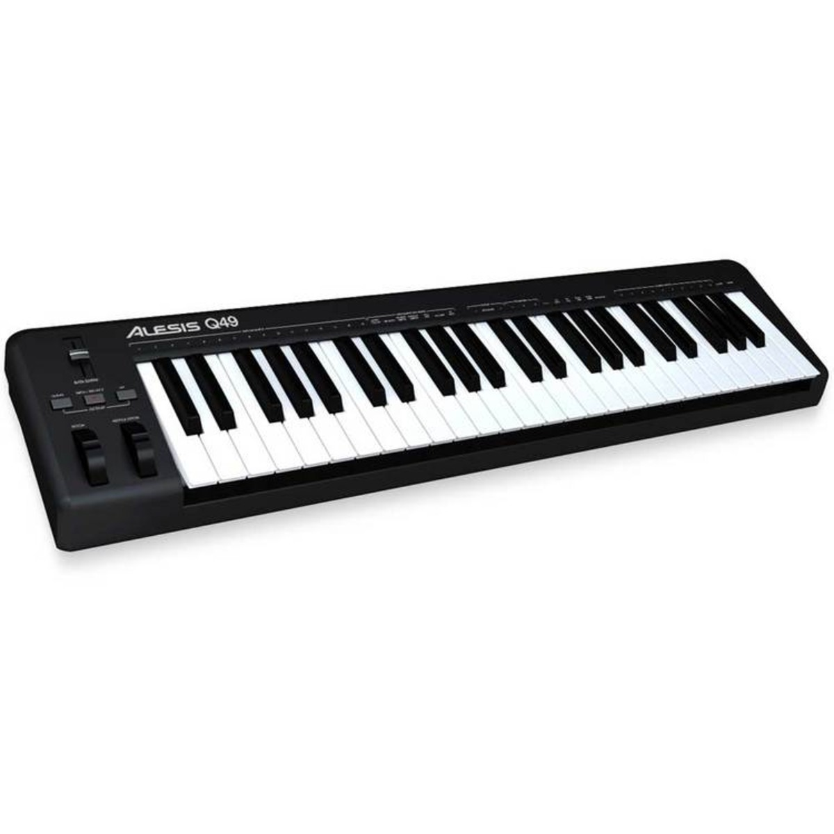 Alesis q49 49 key usb midi keyboard ex demo at gear4music - Ableton live lite alesis edition ...