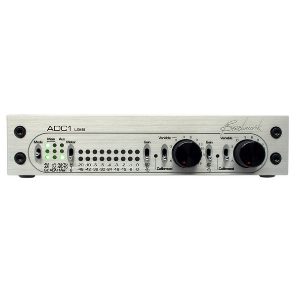 Benchmark ADC1USB Analogue to Digital Converter, Silver