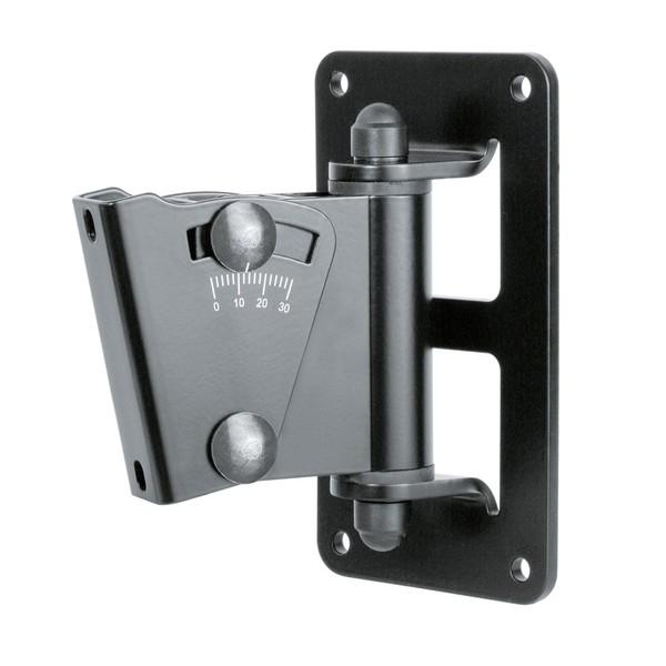 K&M Adjustable Speaker Wall Mount, Black