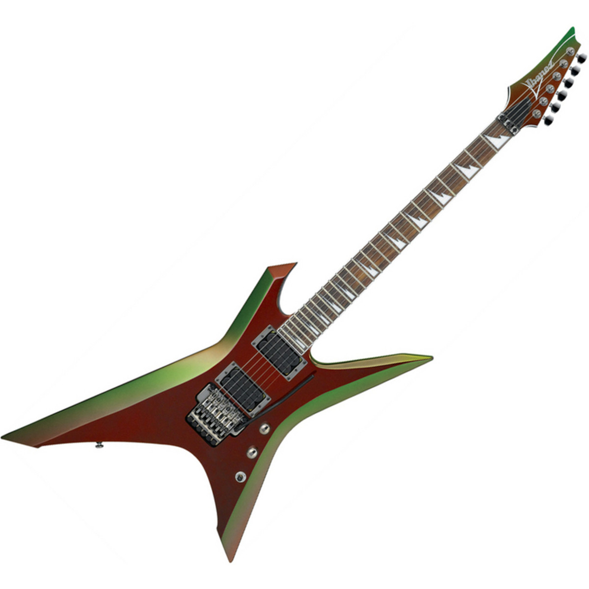 DISC Ibanez Xiphos XPT700 Electric Guitar, Red Chameleon ...