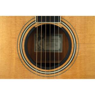 Planet Waves O-Port Sound Enhancement for Acoustic Guitar, Large, Black