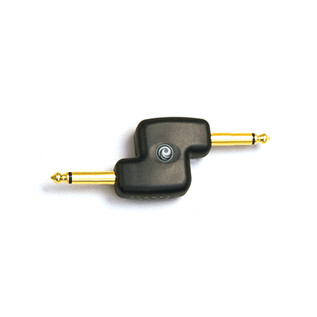 Planet Waves 1/4 Inch Male Mono Offset Adapter