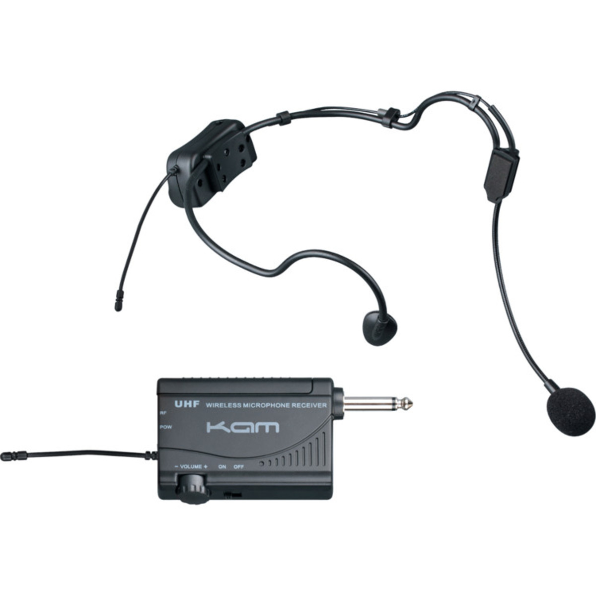 kam kwm1900 hs uhf wireless head set microphone system at gear4music. Black Bedroom Furniture Sets. Home Design Ideas