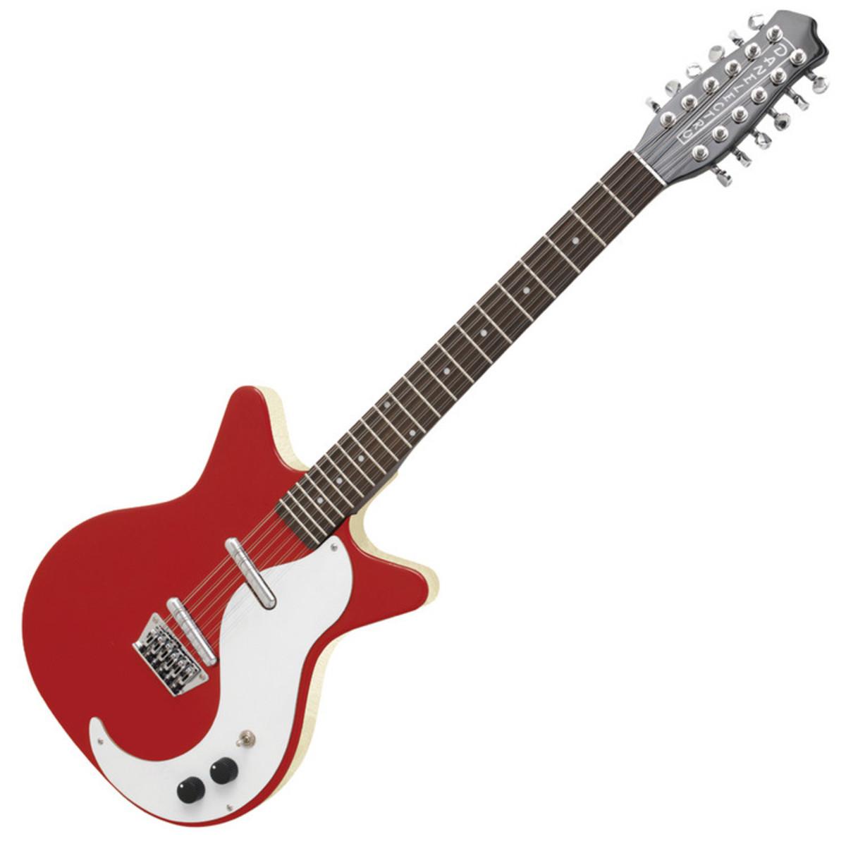 danelectro dc59 12 string guitar red at gear4music. Black Bedroom Furniture Sets. Home Design Ideas