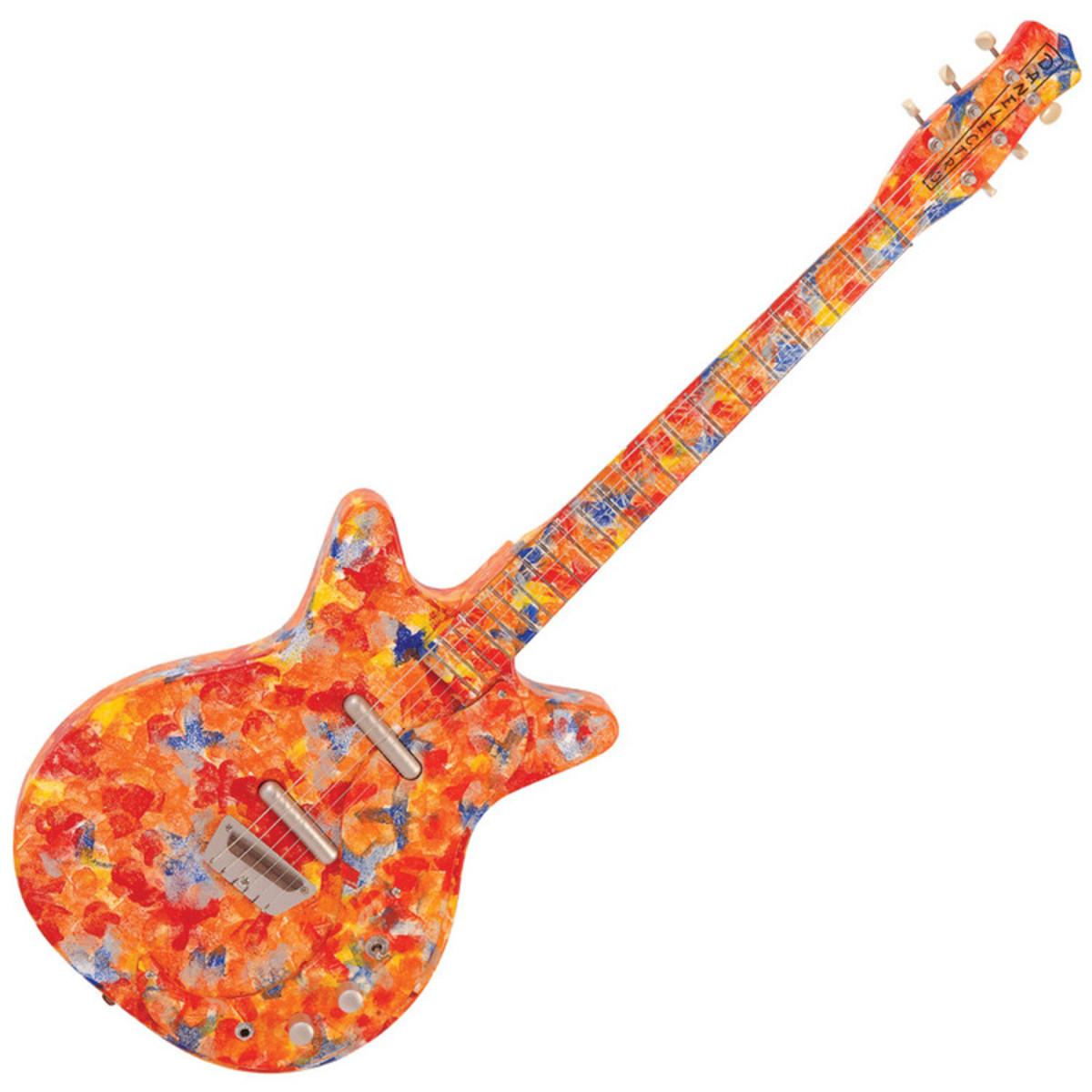 DISC Danelectro 59, Original Spec Guitar, Psychedelic