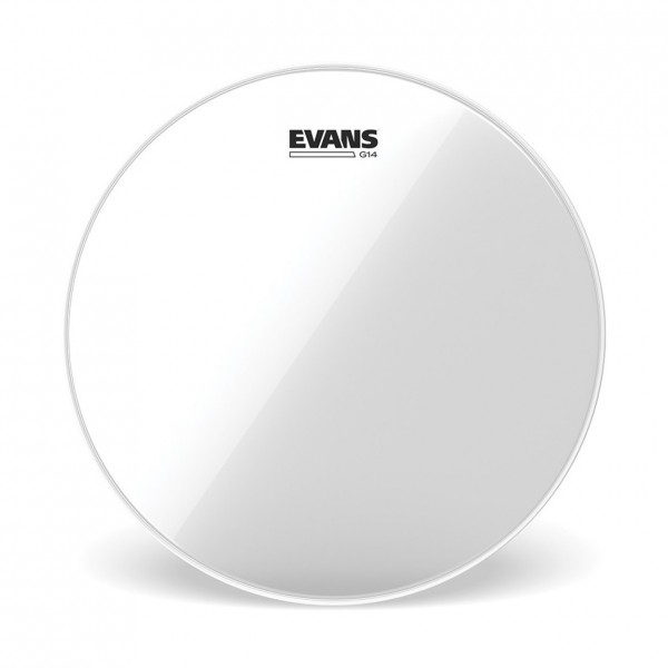 Evans G14 Clear Drum Head, 6 Inch see 89