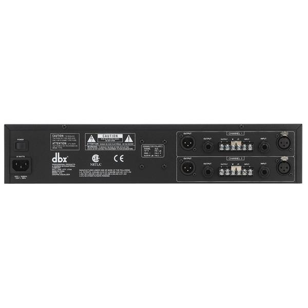 dbx 1215 Dual 15-Band Graphic EQ Rear