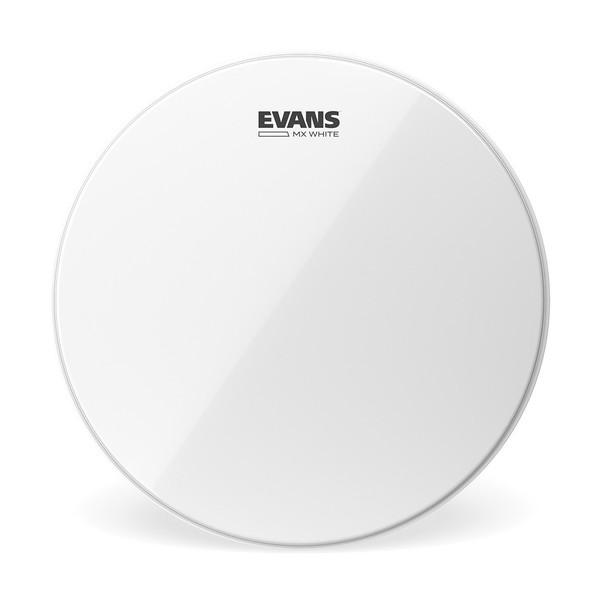 Evans MX White Marching Tenor Drum Head, 6 Inch