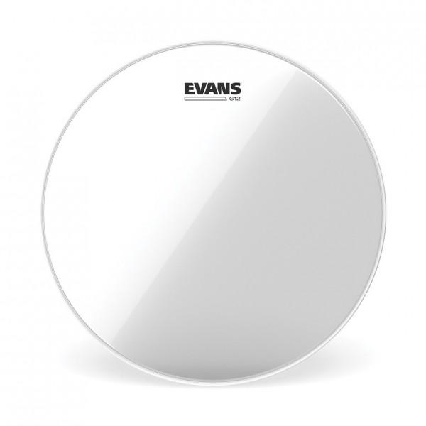 Evans G12 Clear Drum Head, 8 Inch