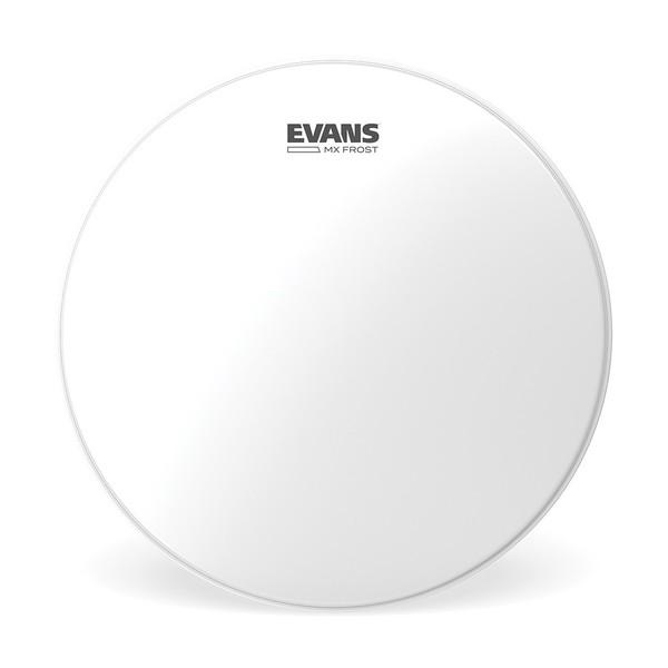 Evans MX Frost Marching Tenor Drum Head, 8 Inch