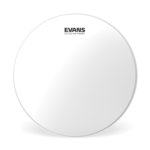 Evans MX Frost Marching Tenor Drum Head, 10 Inch