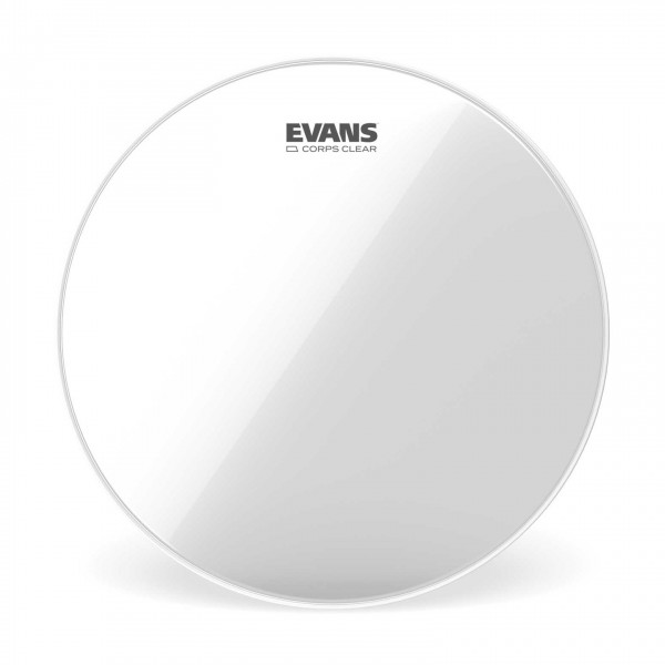 Evans Corps Clear Marching Tenor Drum Head, 12 Inch