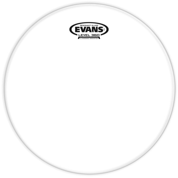 Evans Resonant Glass Drum Head, 12 Inch