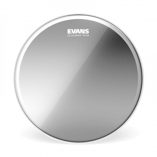 Evans System Blue SST Marching Tenor Drum Head, 12 Inch