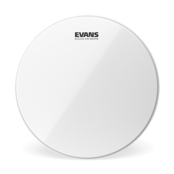 Evans MX White Marching Tenor Drum Head, 13 Inch