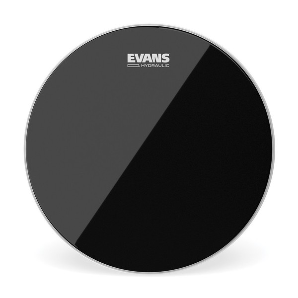 Evans Hydraulic Black Drum Head, 14 Inch