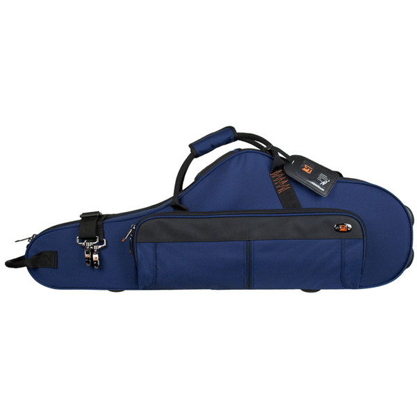 Protec Contoured Tenor Saxophone Pro Pac Case, Blue