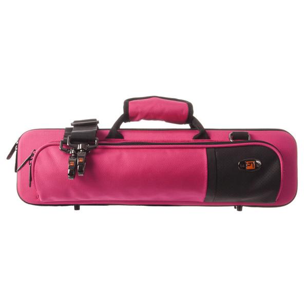 Protec Slimline Flute Pro Pac Case, Hot Pink