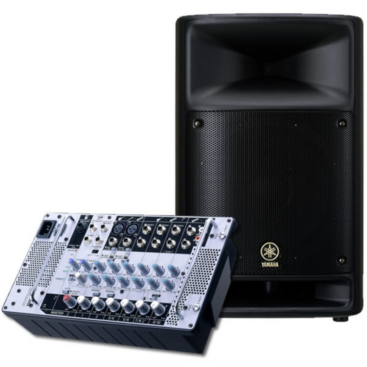 Yamaha Portable Pa System Stagepas M