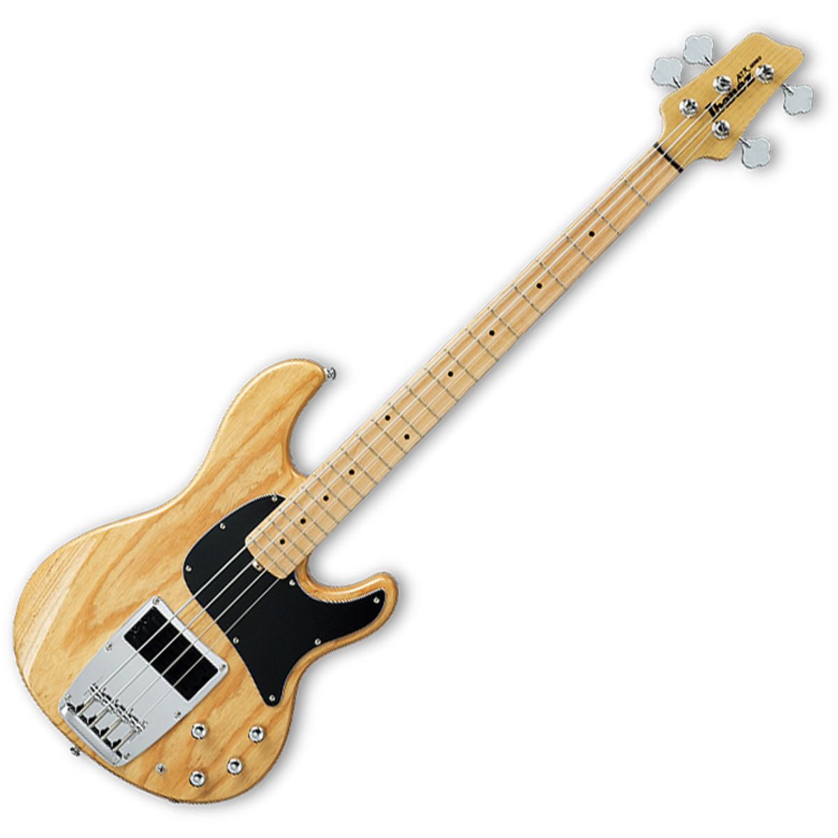 disc ibanez atk300 electric bass guitar natural at gear4music. Black Bedroom Furniture Sets. Home Design Ideas