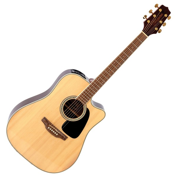 Takamine GD51CE-NAT Dreadnought Cutaway Electro-Acoustic, Natural