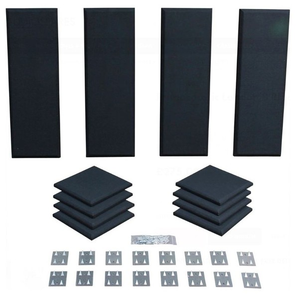 Primacoustic London 8 Room Kit, Black