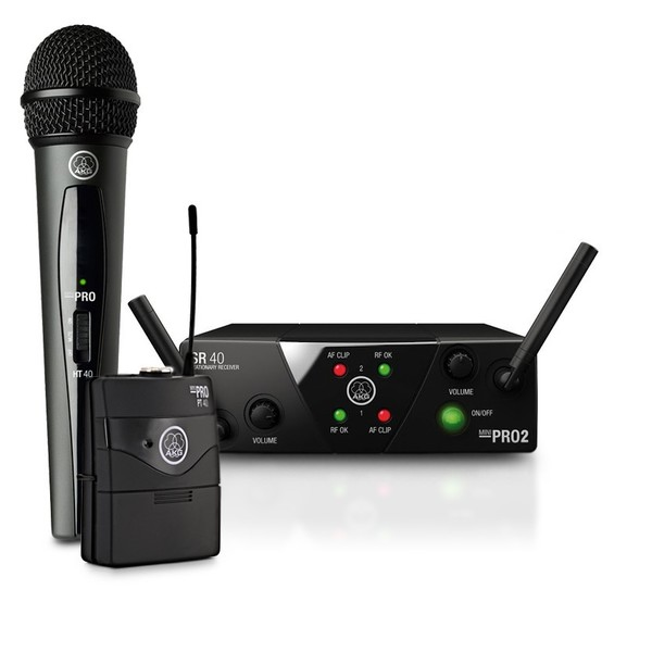 AKG WMS 40 Mini Dual Mix Wireless Instrument System